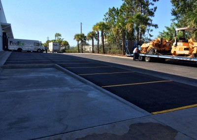 Fedex-paving-job-Georges-Paving-tampa-florida-12