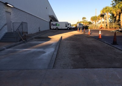 Fedex-paving-job-Georges-Paving-tampa-florida-9